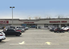 Connellsville Shopping Center: Cash Saver and Nickman's Drug